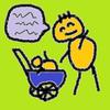 【微笑】赤ちゃんと話すお父さんがいい