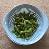 枝豆はフライパンで蒸し焼きにすると格段に美味くなるらしいのでやってみた。