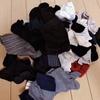 旬な自分を作る断捨離、秋冬物の靴下を夏に処分するのが第一ステップ。