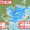 【地震】茨城県南部でM4.3の地震~ハムスターが予知+埼玉県や群馬県にM8級の活断層