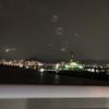広島呉道路から臨むMAZDA宇品工場の夜景です。綺麗です。