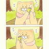 ネコノヒー「あったか〜い」/Warm soup can