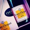 おうちXmasはシャンパンで乾杯♪<Veuve Clicquot ROSE>