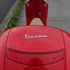 Vespa LX150ie にトップケース取付
