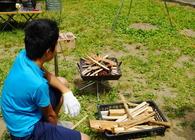 俺的、子供キャンプであると便利な道具3つ。子供と一緒に「牛タンの香草塩釜焼き」を作ろう