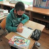 6年生:図工 1枚の板から テープカッター作り