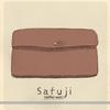 新しい、革財布
