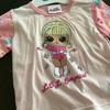 めっちゃギャルなパジャマを、西松屋で買いました