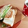 【朝ごはん】具沢山コロッケホットサンド【レシピ】