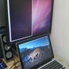 MacBook をデュアルディスプレイにした