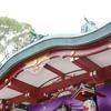 お宮参りの出張撮影 @大田区・多摩川浅間神社【あおぞら写真館 出張撮影】