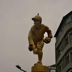 「嘉義(Chiayi)」と言ったら今は、そう「KANO」、街の中心の銅像も。。。