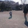 補助ありから補助なし自転車へ(4歳7カ月)