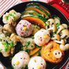 【初めてのSTAUB】ひよこと豚さん☆生姜たっぷり南瓜と手羽元の鍋