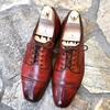 本日の革靴 エドワードグリーン CARDIFF(カーディフ)