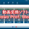 動画変換ソフト「Leawo Prof.Media」の使い方の紹介とレビューをする【PR】