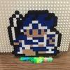 【アイロンビーズ】ファミコン版・ドラクエ3の勇者を作ってみた!