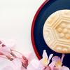 《お菓子とデザイン》【都松庵(としょうあん)】「MIYAKO MONAKA」のパッケージ♬
