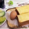 館山 中村屋 館山駅前店でモーニングを食べられた( ^-^)