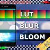 【Unity】モバイルでも高速に動作するカラーコレクション(LUT)、ブラー、ブルームが使用できる「Fast Mobile Post Processing」紹介($6.99)