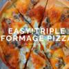 簡単5分・3種のチーズとはちみつのピザ【バングラでも作れる】