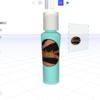 Umakeで3D画像のビンにラベルを貼ってみた