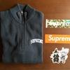 i bought 『Supreme half zip sweater』