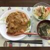 カレーと生姜焼き