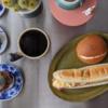 7/1(水)パニーニ、鮭の味噌汁とスタートで躓く
