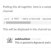 slack webhookでログをslackに自動投げ込み