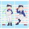 おそ松さん ぴえろ描き下ろしマリンセーラー松がミニタペストリー(全6種)で発売