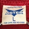 345 ビンテージ Tシャツ ARTEX 60's