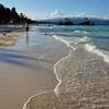 フィリピン ボラカイ 美しいビーチ 朝の散歩