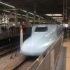 快速マリンライナー12号グリーン車と山陽新幹線さくら547号(高松7:48→広島9:33)
