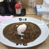 禁酒日のディナー(温玉カレー)