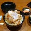 大島【とんかつ 金魚や】かつどん ¥970