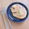 朝ご飯:クルミとチョコいりホットケーキ☆子どもとの台所でのルール