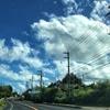 2017/09/12 今日の沖縄の天気 沖縄を避ける渦巻き
