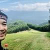 上州武尊山スカイビュートレイル70 2018③中盤の片品スキー場に差し掛かったところです