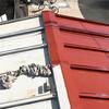 トタン屋根を塗る
