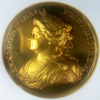 イギリス 1713年アン女王ユトレヒト メダルNGC MS62