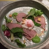 フレンチの前菜:鴨肉