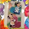 キャラパーツでデコiPhoneケースを作ってみたその14★ミッキーマウス&ミニーマウス(ディズニー )★