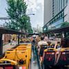根室花まる KITTE丸の内店で寿司を食べて皇居周辺散歩、2階建てはとバスでパノラマ都心ドライブへ