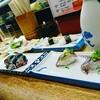 寿司屋でちょいと一杯。