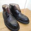 タケオキクチのUチップチャッカーブーツを磨く・靴磨き屋の仕事録