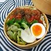 鹿肉団子の味噌トマト煮弁当