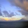 本日の桜島と錦江湾です。