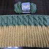 棒針編み  セリアの毛糸でニット帽を編む!  2
