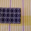 オリジナル半巾帯でコーディネート